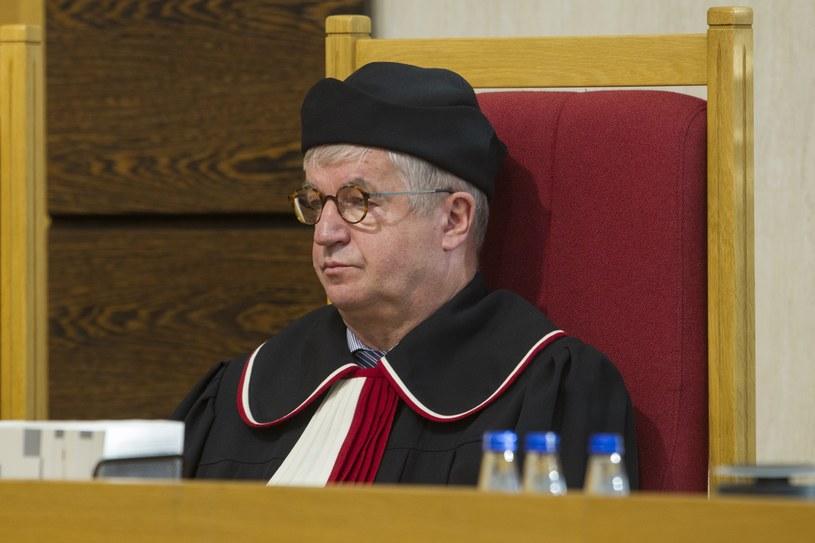 Sędzia TK Andrzej Wróbel /Wojciech Olkuśnik /East News