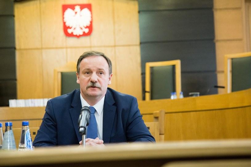 Sędzia TK Piotr Pszczółkowski /Maciej Luczniewski/REPORTER /Reporter