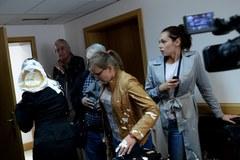 Sędzia z procesu Kiszczaka zaatakowana... tortem