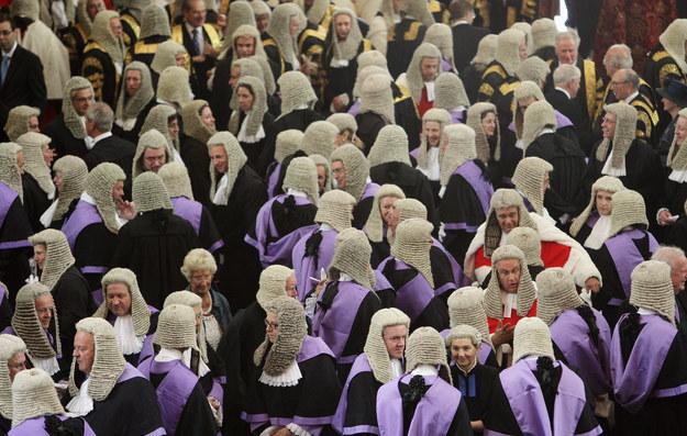 Sędziowie brytyjscy. Fot. Dan Kitwood /Getty Images