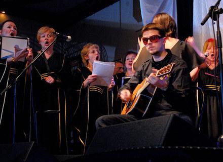 Seemoon (UnderGround Fly) podczas akustycznego koncertu /