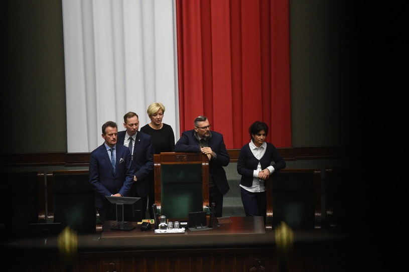 Sejm, 11 stycznia /Radek Pietruszka /PAP