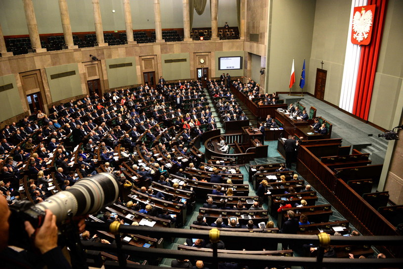 Sejm RP /Jakub Kamiński   /PAP