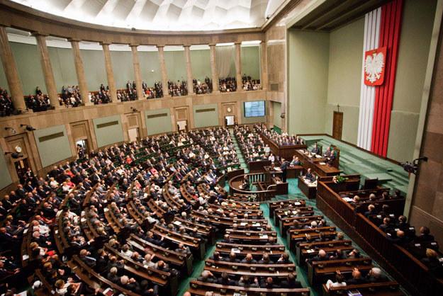 """""""Sejm Rzeczypospolitej Polskiej uczyni wszystko co możliwe, aby wynagrodzić krzywdy"""" (zdjęcie ilustracyjne) /Janek Skarżyński /AFP"""