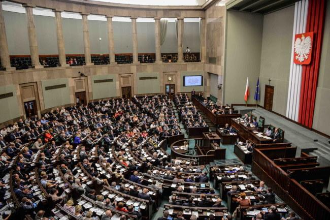Sejm /Jakub Kamiński   /PAP