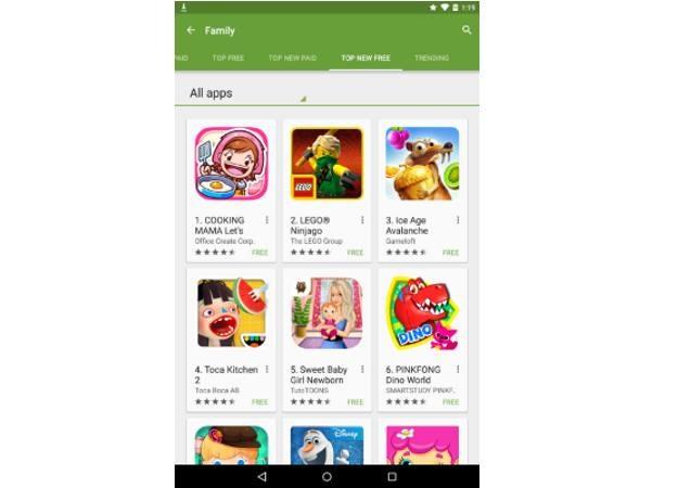 Sekcja Familijna przygotowana z myślą o Google Play /materiały prasowe