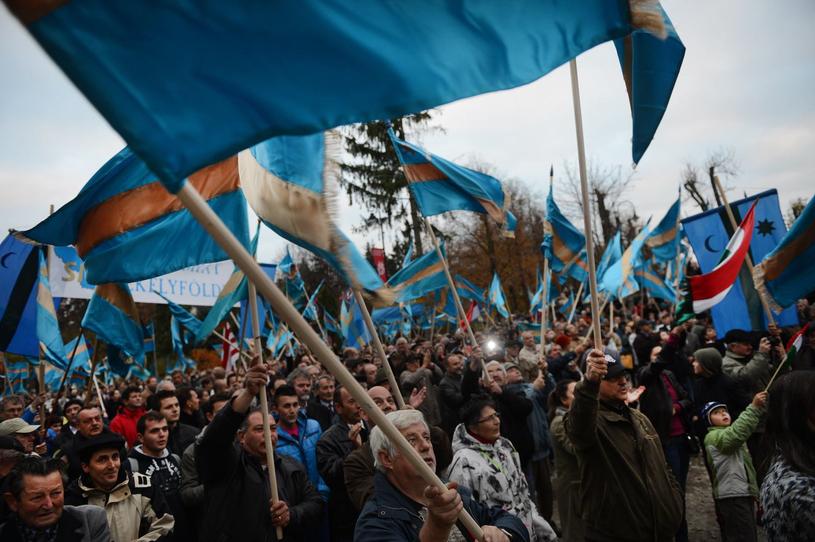 Seklerzy z zachodniej Rumunii w 2012 roku /AFP