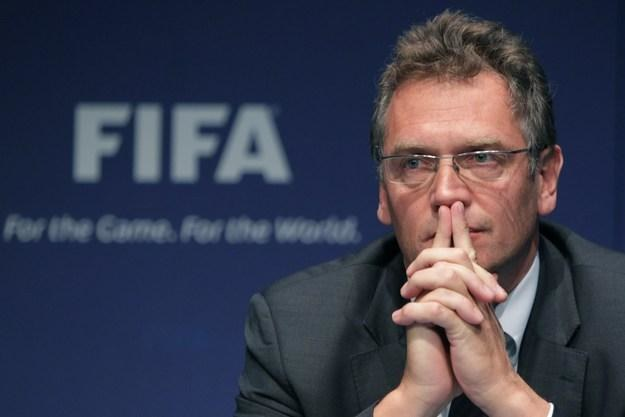 Sekretarz generalny FIFA Jerome Valcke /AFP