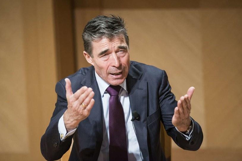 Sekretarz generalny NATO Anders Fogh Rasmussen. /AFP