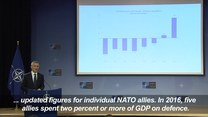 Sekretarz generalny NATO wzywa kraj członkowskie do zwiększenia nakładów finansowych na wojsko