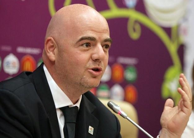 Sekretarz generalny UEFA, Gianni Infantino /AFP