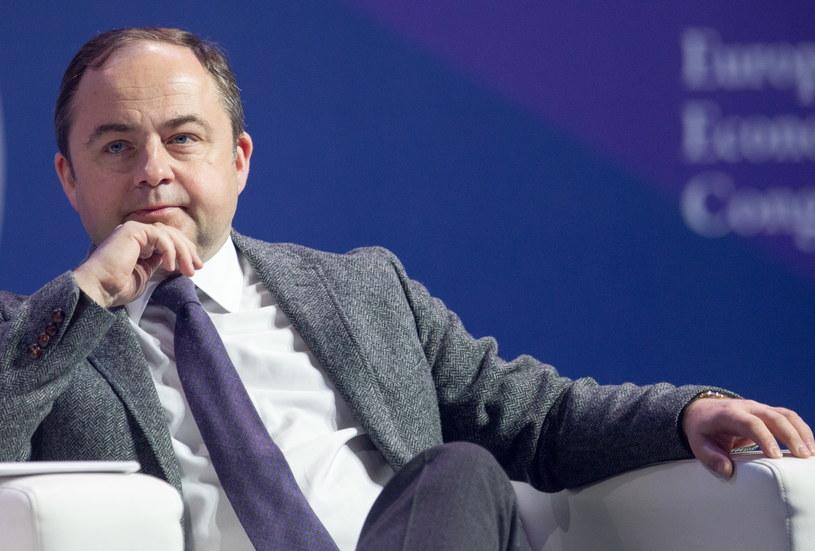 Sekretarz stanu ds. europejskich w MSZ Konrad Szymański /Andrzej Grygiel /PAP