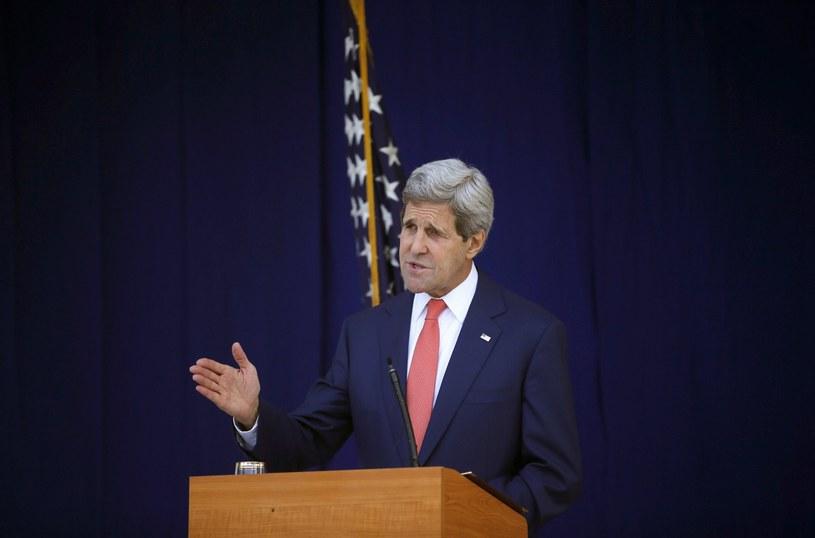 Sekretarz stanu John Kerry udaje się w czwartek do Kijowa /AFP