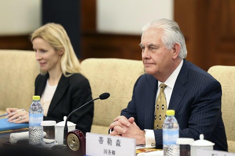 Sekretarz stanu USA Rex Tillerson /PAP/EPA