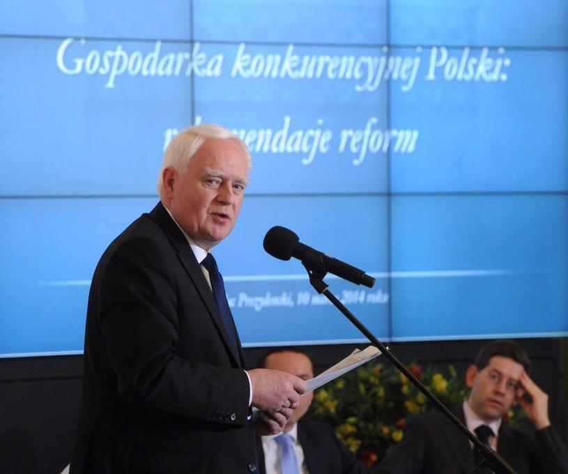 Sekretarz stanu w Kancelarii Prezydenta Olgierd Dziekoński /Grzegorz Jakubowski /PAP