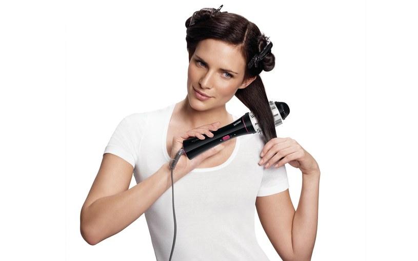 Sekretem nowych termoszczotek jest wyjątkowe wysuwane włosie /materiały prasowe