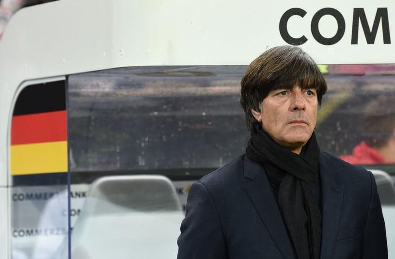 Selekcjoner Niemiec Joachim Loew /AFP