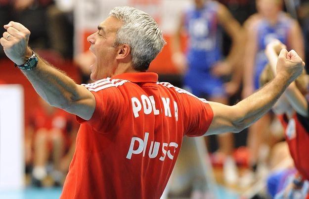 Selekcjoner reprezentacji Polski siatkarzy Andrea Anastasi /PAP/EPA