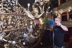 Selfie z żyrandolem? Jest to możliwe w krakowskim Teatrze Słowackiego