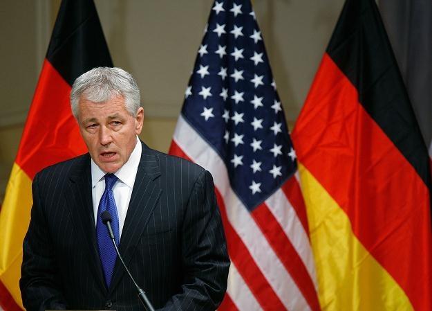 Senator Chuck Hagel /AFP