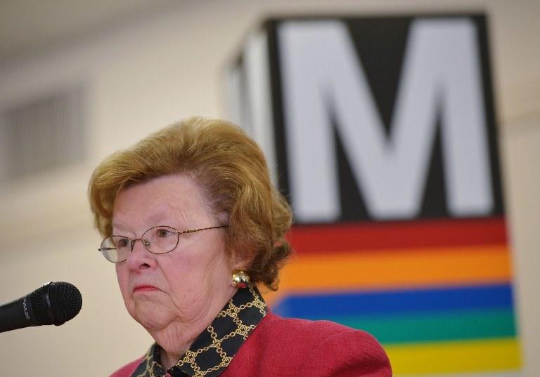 Senator Partii Demokratycznej Barbara Mikulski z Marylandu /AFP