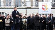 Senatorowie PO: Prezydent niezgodnie z tradycją wykorzystuje symbole walki o wolność