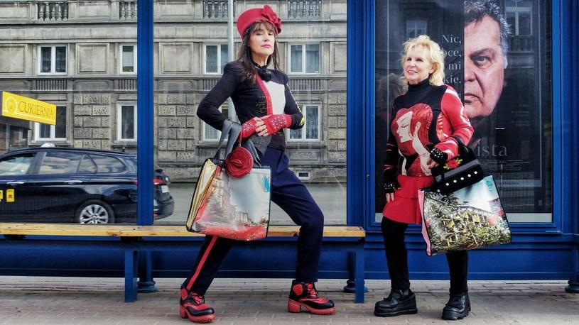 Seniorki z Krakowa tworzą stylizacje i występują na pokazach mody /Małgorzata Szymczyk-Karnasiewicz /materiały prasowe