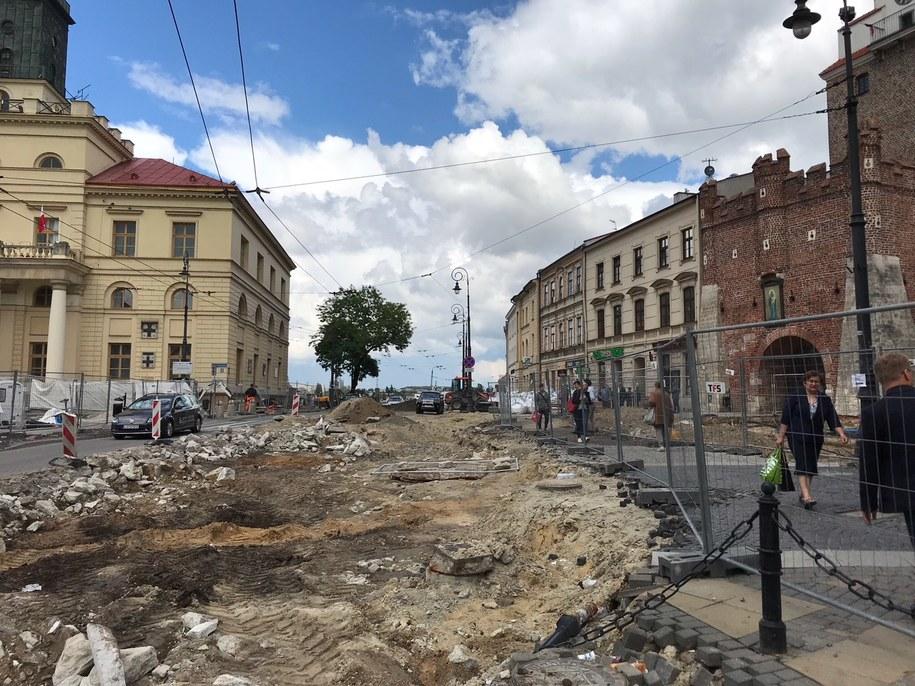 Sensacyjne odkrycie w Lublinie /Krzysztof Kot /RMF FM