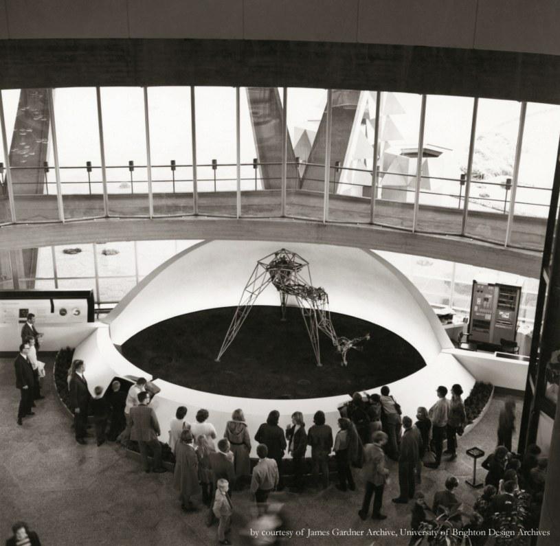 Senster. Zdjęcie pochodzi z archiwum Jamesa Gardnera z University of Brighton Design z 1970 r. /Archiwum