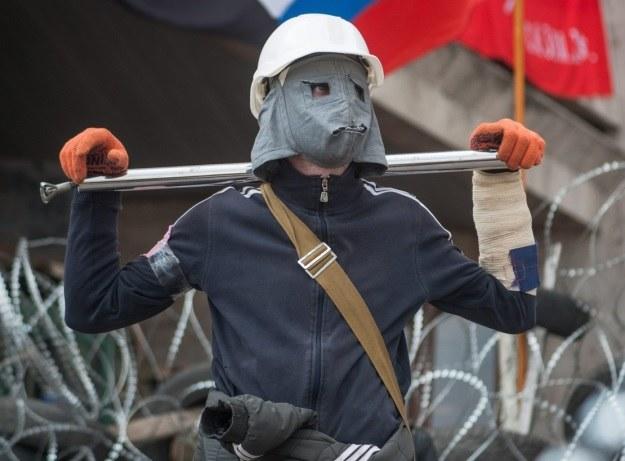 Separatyści są uzbrojeni i domagają się referendum o przyłączeniu do Rosji /PAP/EPA