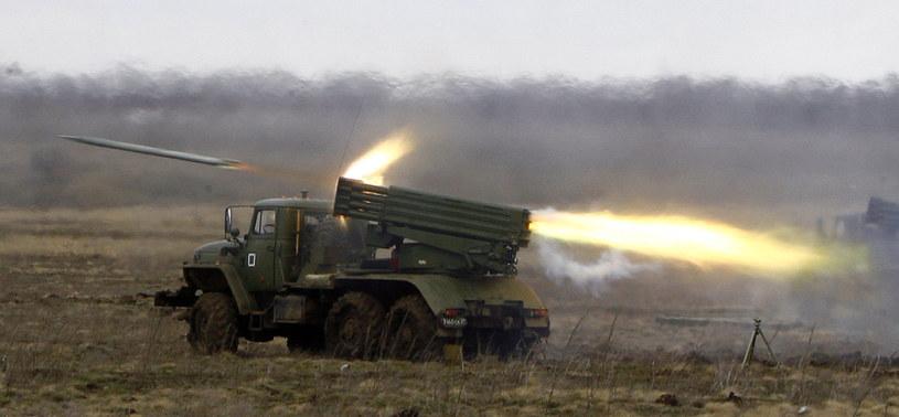 Separatyści użyli wyrzutni rakiet Grad? /AFP