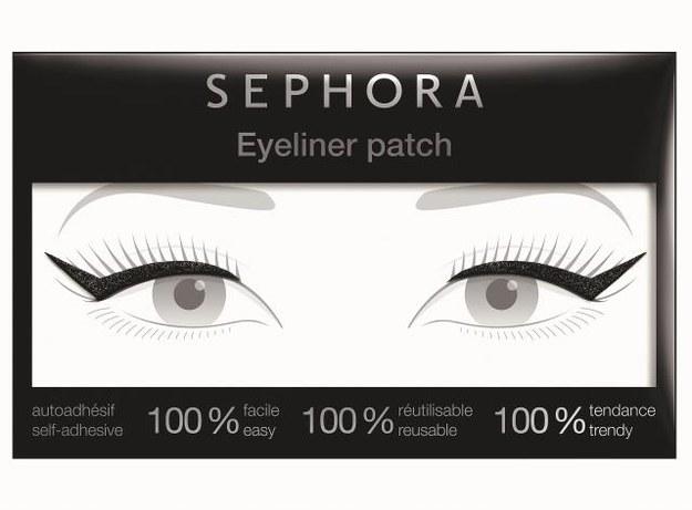 Sephora, eyeliner  w naklejkach, 39 zł. /Mat. Prasowe