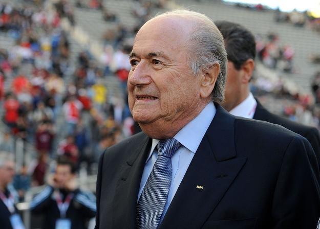 Sepp Blatter przedstawił podczas obrad Komitetu Wykonawczego, plan walki z korupcją /AFP