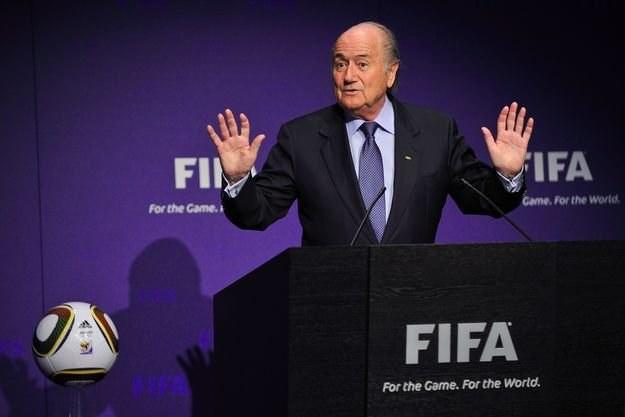 Sepp Blatter - szef FIFA /AFP