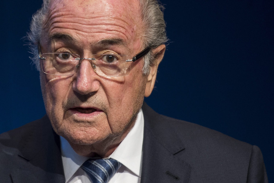 Sepp Blatter / ENNIO LEANZA    /PAP/EPA