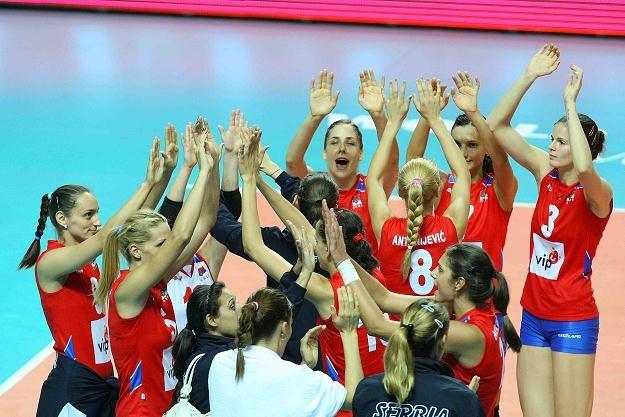 Serbki awansowały z pierwszego miejsca do półfinału /www.fivb.org