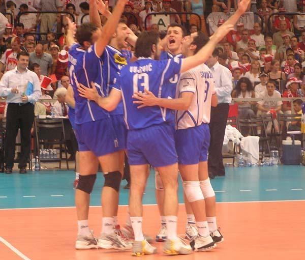 Serbowie zasłużyli w sobotę na zwycięstwo /INTERIA.PL