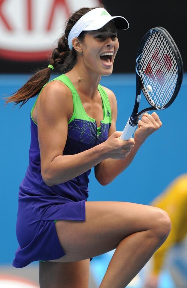 Serbska tenisistka Ana Ivanović /AFP