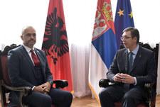 Serbski premier z historyczną wizytą w Albanii