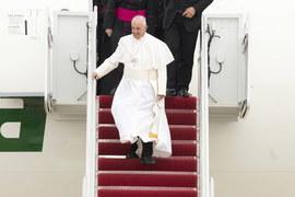 Serdeczne przywitanie papieża Franciszka w Waszyngtonie