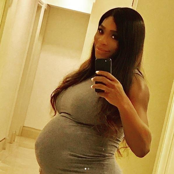 Serena Williams pochwaliła się na Instagramie zdjęciem w zaawansowanej ciąży /Profil Sereny Williams /Instagram