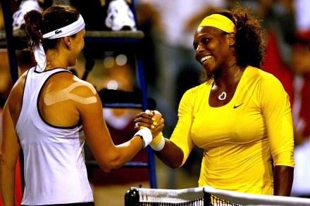 Serena Williams pokonała Jarosławę Szwedową z Kazachstanu /AFP