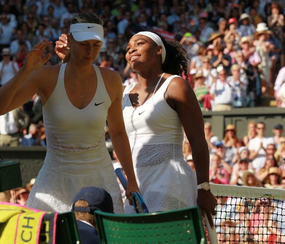 Serena Williams pokonała Rosjankę Marię Szarapową /SEAN DEMPSEY /PAP/EPA