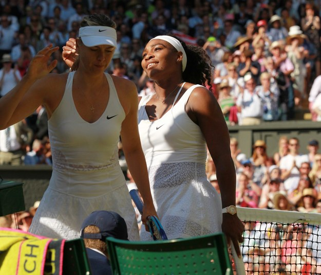Serena Williams rywalką Muguruzy w finale Wimbledonu 2015