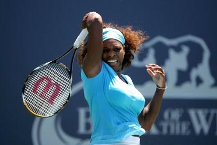 Serena Williams wygrała z Węgierką Melindą Czink /AFP
