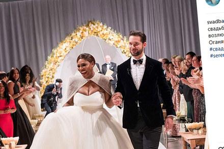 Serena Williams wyszła za mąż! Mamy zdjęcia!