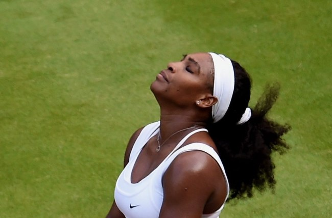 Serena Williams /PAP/EPA/ANDY RAIN /PAP