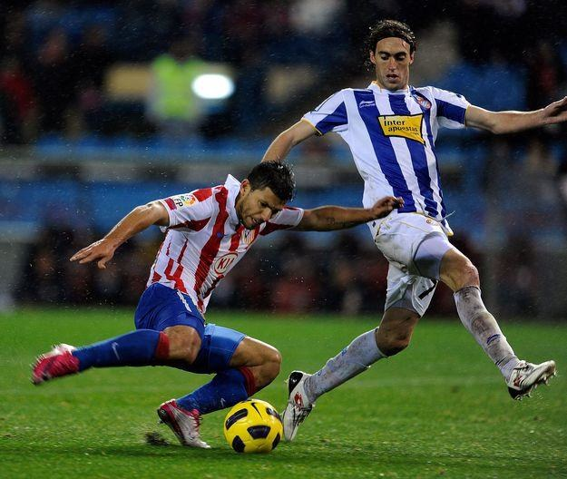 Sergio Aguero, napastnik Atletico Madryt /AFP