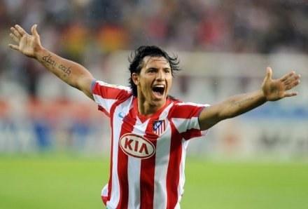 Sergio Aguero zostaje w Atletico Madryt /AFP