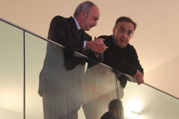 Sergio Marchionne z prawej /INTERIA.PL